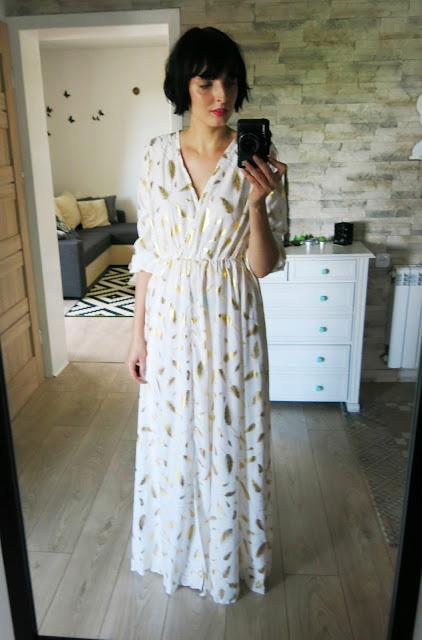 Delikatna letnia sukienka ZAFUL ♥