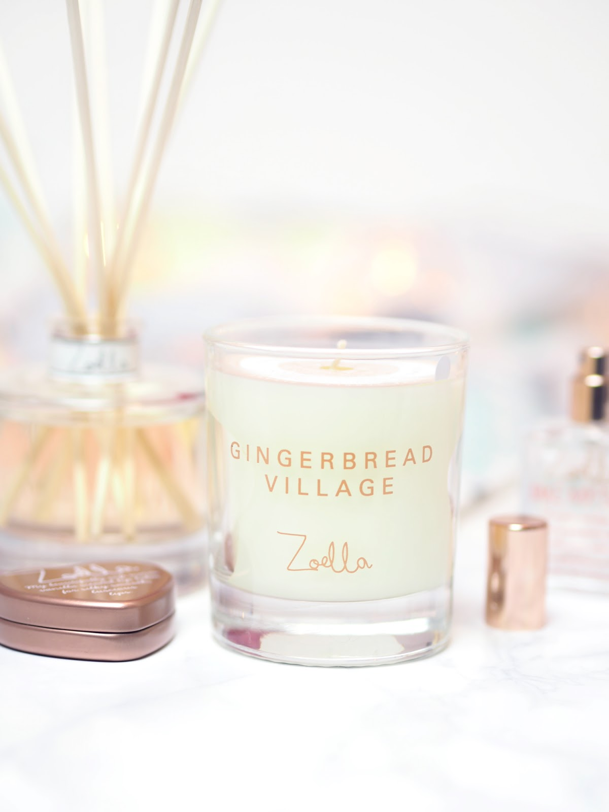 Zoella Lifestyle Gingerbread Village Candle
