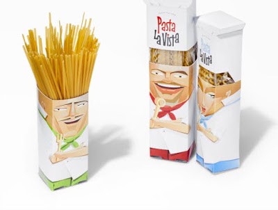 Pasta La Vista Package Design