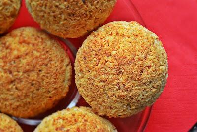 Fit kokosanki z migdałową nutą