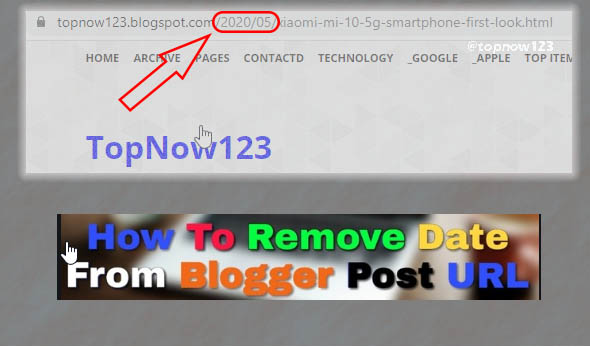 Remove Date From Blogger Post URL SEO blogger tips