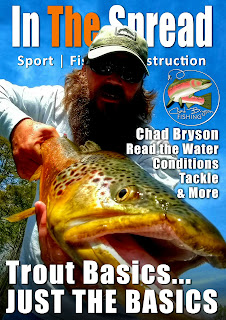 trout fishing in the spread chad bryson techniques