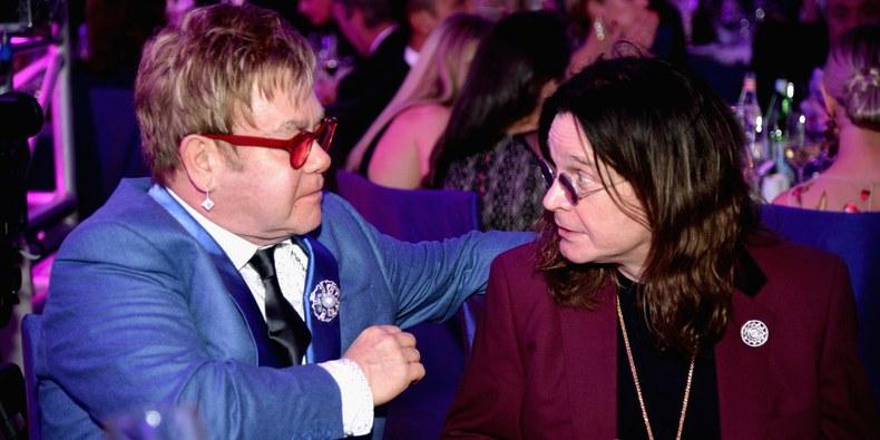 Elton John Ozzy photo