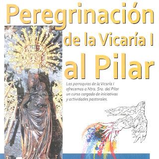 Peregrinación al Pilar el miércoles 17 de mayo