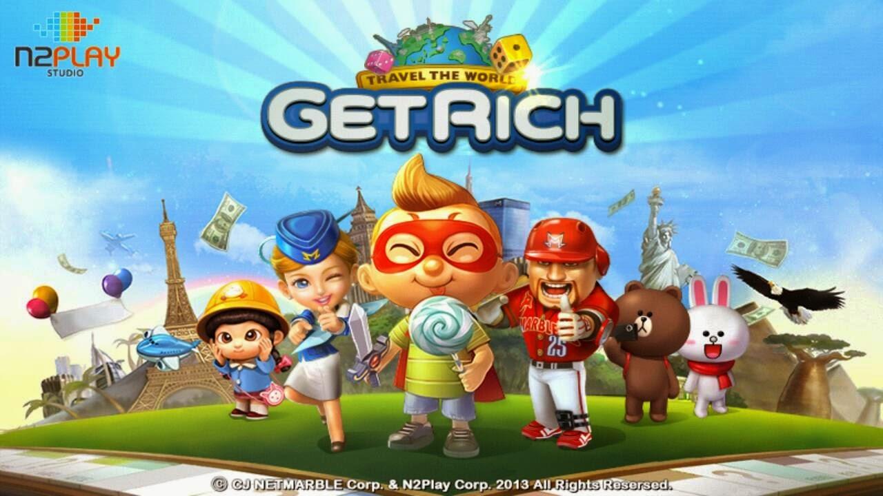 Jenis-Jenis dan Karakter Kartu Line Let's Get Rich