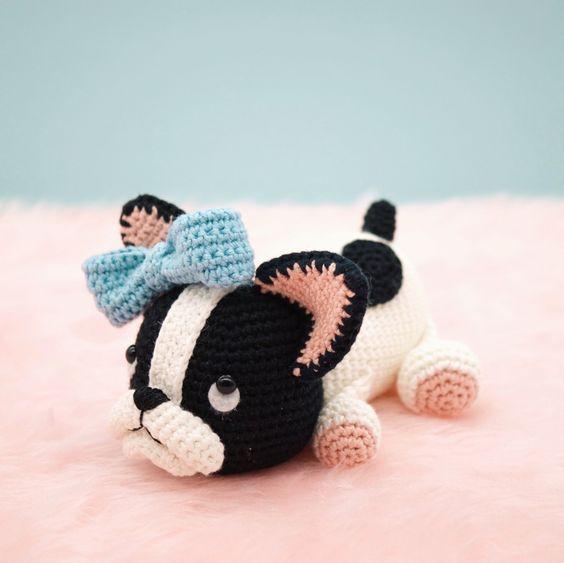 DIY Amigurumi Pug Amigurumi Recipe – Amigurumi Crochet Dog Chart ... | 563x564