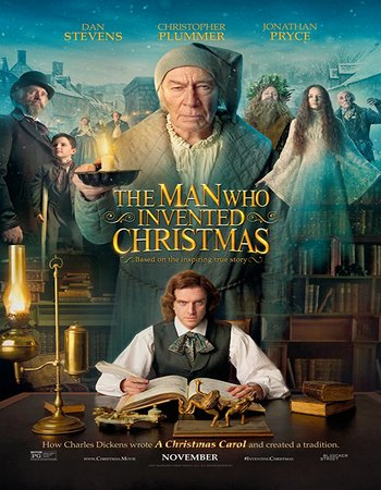 The Man Who Invented Christmas (2017) English 300MB