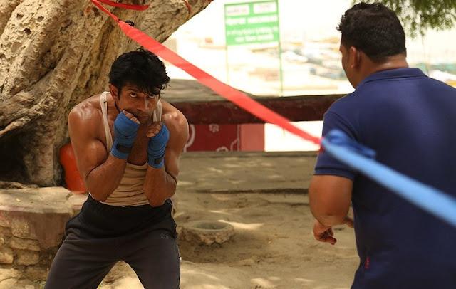 Mukkabaaz, Vineet Kumar Singh, boxing practice