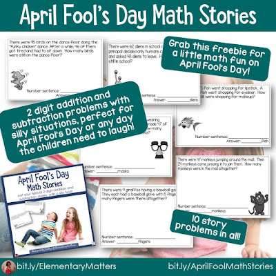 https://www.teacherspayteachers.com/Product/April-Fools-Day-Math-Story-Problems-226758?utm_source=April%20Fool%20Blog%20Post&utm_campaign=Math%20Freebie