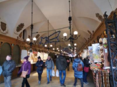 krakow poland market street