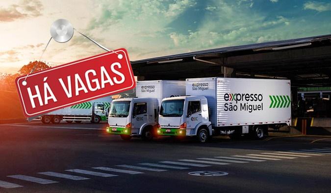 Expresso São Miguel abre vagas para Motorista categoria C