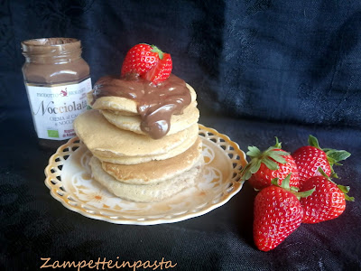Pancakes integrali senza uova