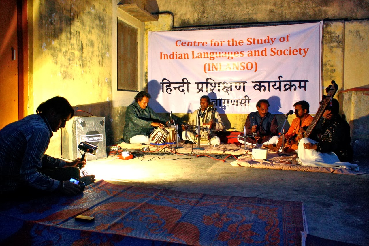 Conclusion of the Hindi Study Programme in Varanasi, Fall