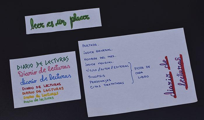 Estructura del «Diario de Lecturas»