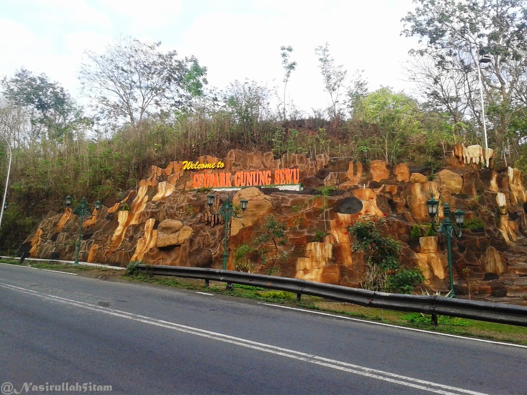 Tulisan GUNUNGKIDUL, Gapura Gunung Kidul, dan Tulisan Geopark Gunung Sewu, Gunung Kidul