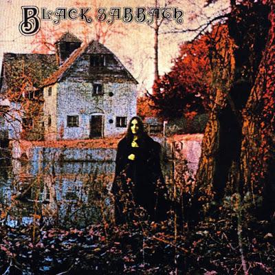 Portada del primer disco de Black Sabbath de 1970