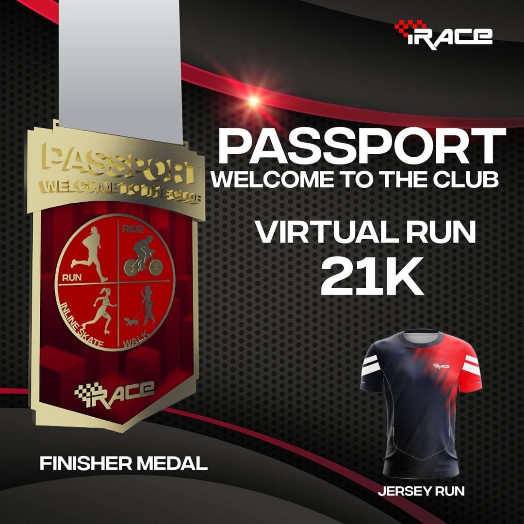 Cycling Jersey 👕 iRace Passport Virtual Race • 2021