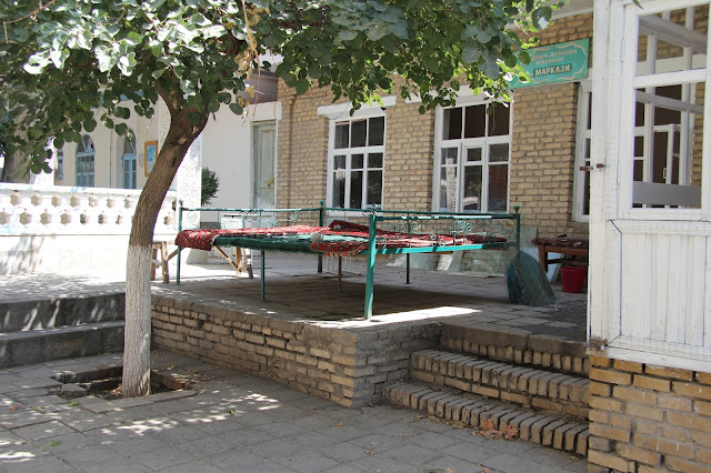 Ouzbékistan, Samarcande, tapchane, tapshan, © L. Gigout, 2012