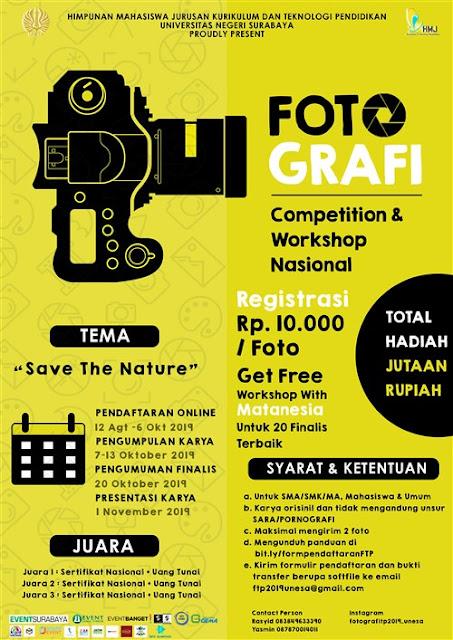 Fotografi Competition & Workshop Nasional