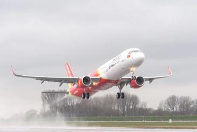 Vietjet Air mở đường bay Hà Nội- Yangon