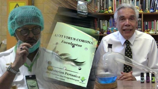Mau Dibikin Kalung, Klaim Kementan Kayu Putih Cegah Virus Corona Dibantah Profesor Kanada