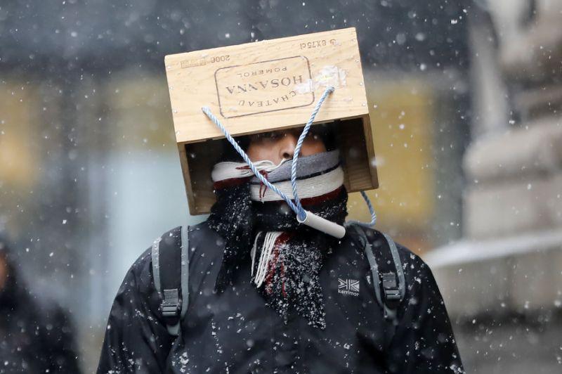 Зимова негода у країнах Єіропи