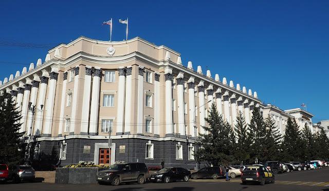 Улан-Удэ, площадь Советов, Хурал