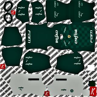 Palmeiras Home Kit dls 2021