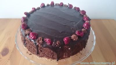 tort czekoladowy z mascarpone