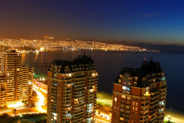 Viña del Mar no Chile