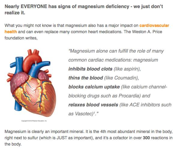 Dr Mark Sircus Up To Population Magnesium Deficient Role