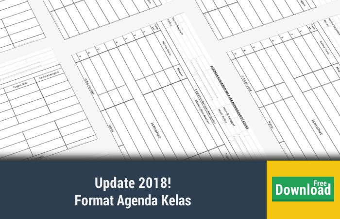 Format Agenda Kelas