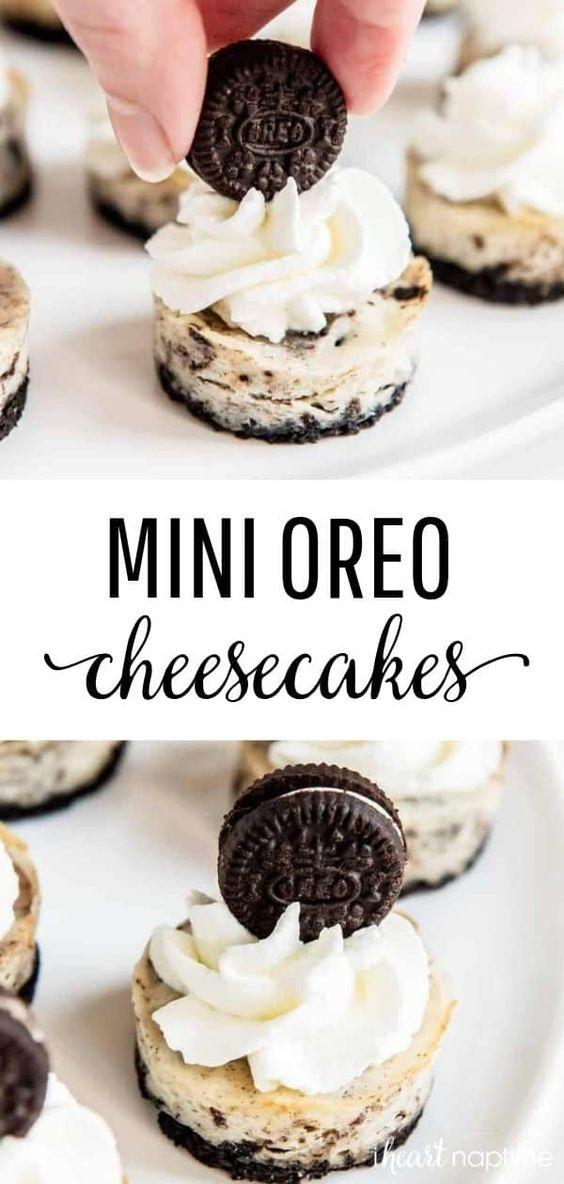 Mini Oreo Cheesecake Recipe