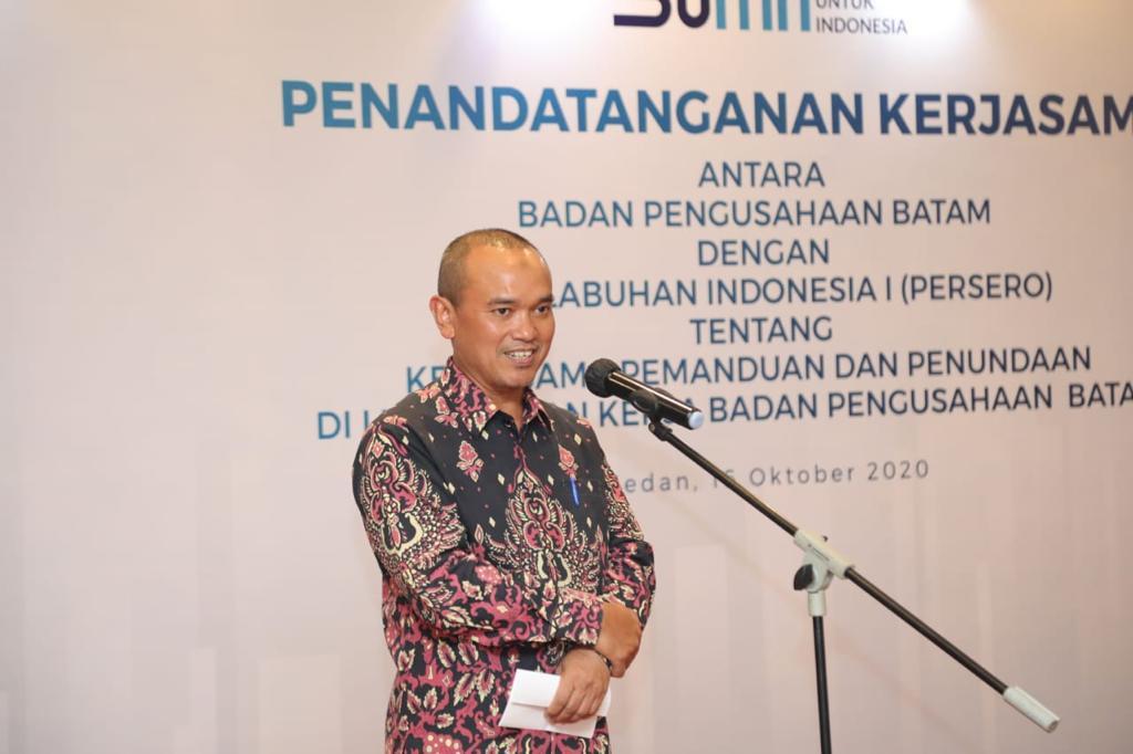 BP Batam dan PT Pelindo I (Persero) Teken Perjanjian Kerja Sama Operasional Jasa Pemanduan dan Penundaan Kapal
