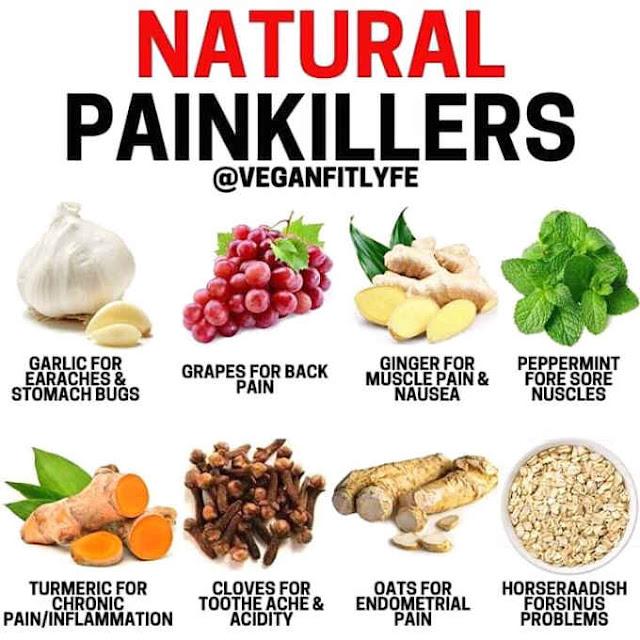 natural na pangpawala ng sakit