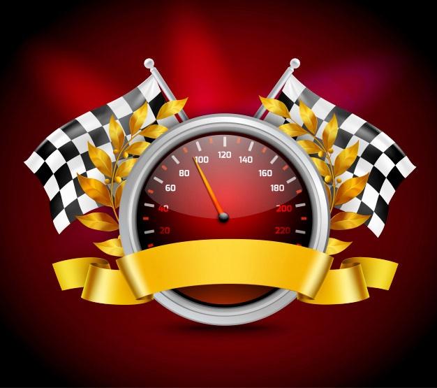 bahan mentahan logo racing siap edit