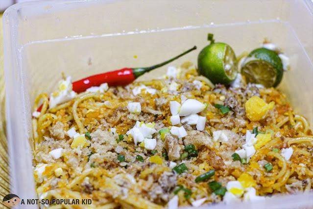 Spaghetti Luglog of Bayani Gourmet Restaurant