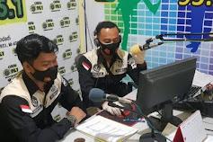 Hari Ke-2 Ops Keselamatan 2021, Humas Polres Grobogan Sosialisasi Melalui Radio Suara