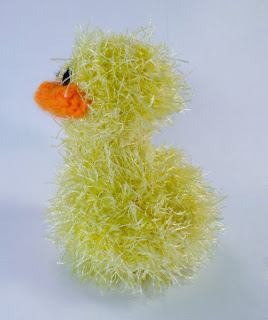 Fluffy Crochet Ducky