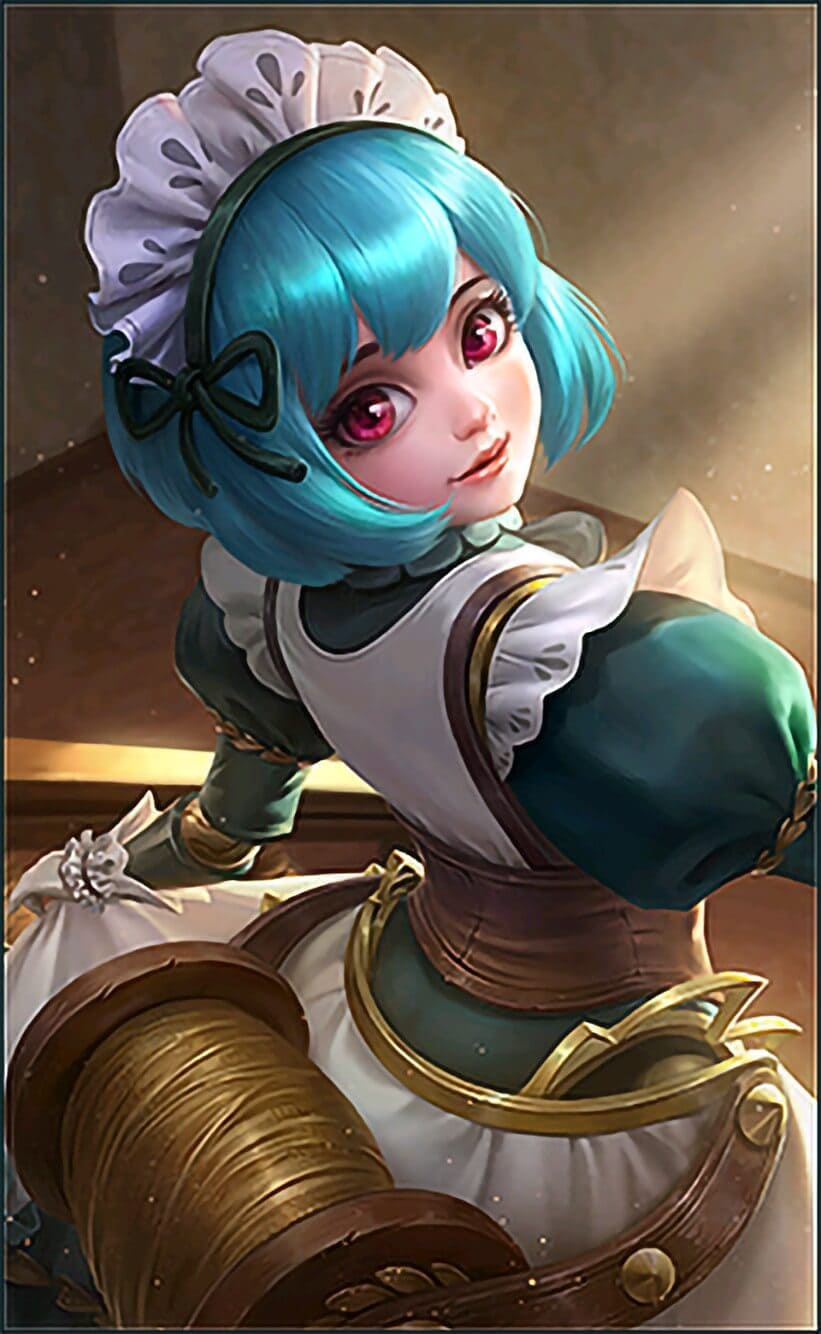 Angela Dove and Love Wallpaper Mobile Legends HD for Mobile