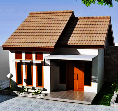 simple minimalist house 1 floor model 15