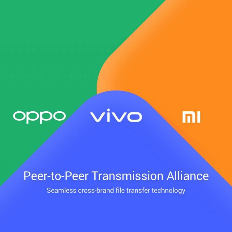 Vivo, OPPO and Xiaomi Intro Peer-to-Peer Transmission Alliance