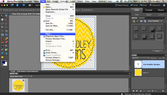 how to insert clipart in adobe photoshop - photo #48