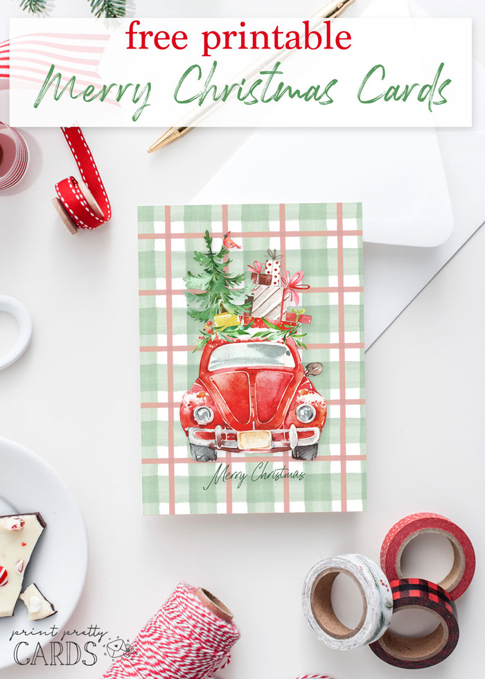 Free Printable Christmas Cards