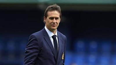 Julen Lopetegui entrenador del Sevilla