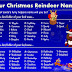 Your Christmas Reindeer Name