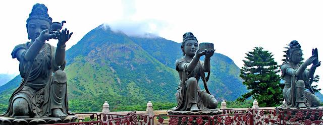 Levy Amosin at Tian Tan Buddha Hong Kong