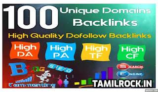 Tamilrock.in, high quality Backlinks list ೨೦೨೧