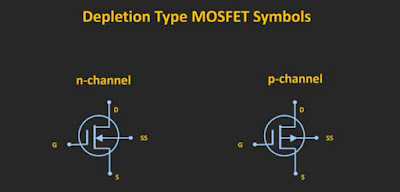 Symbol of depletion type MOSFET