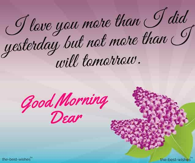 good morning dear wife quotes